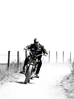 Harley Davidson Photograph - Two Wheels Move The Soul by Mark Rogan