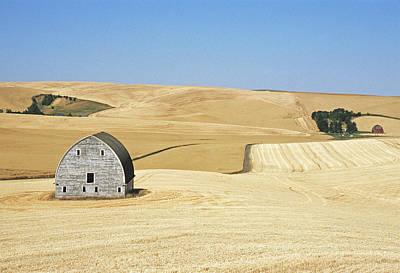 Photograph - Two Whitman Barns by Doug Davidson
