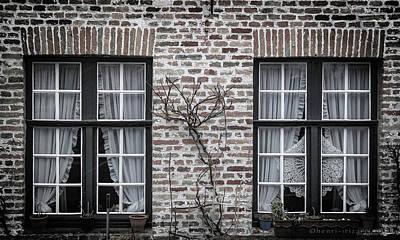 Photograph - Two Windows Brugge by Henri Irizarri