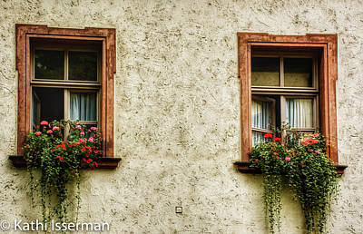 Photograph - Two Windows by Kathi Isserman