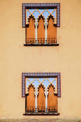 Photograph - Two Windows Of Cordoba by David Letts