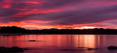 Photograph - Twofold Bay Sunset by Racheal Christian