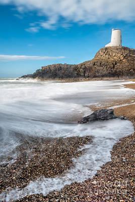 Coastline Digital Art - Twr Mawr Anglesey by Adrian Evans