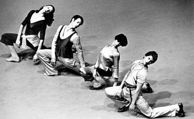 Twyla Tharp 2nd From Right Art Print