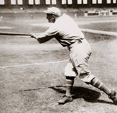 Hall Of Fame Photograph - Ty Cobb by American School