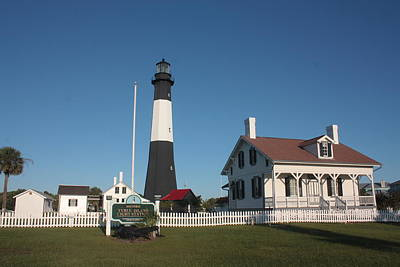 Photograph - Tybee Island Light Station by Bruce