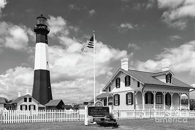 Photograph - Tybee Island Light Station II by Clarence Holmes