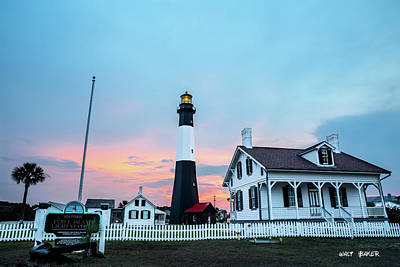 Photograph - Tybee Island Light Station by Walt  Baker