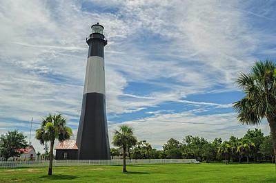 Photograph - Tybee Island Lighthouse by Barry Fowler