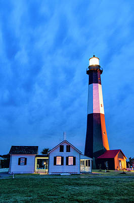 Photograph - Tybee Island Lighthouse by Phyllis Peterson