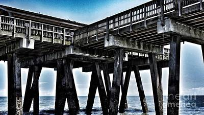 Photograph - Tybee Island Pier by Paul Wilford