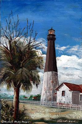 Tybee Lighthouse Art Print by Robynne Hardison