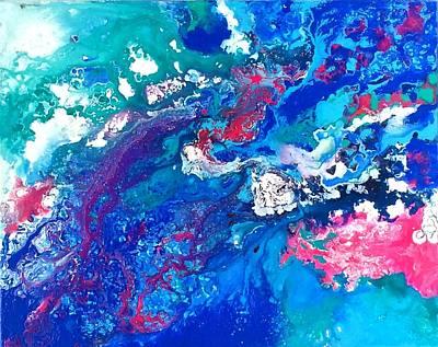 Painting - Tyche by Sarah Mathews