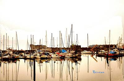 Photograph - Tyee Marina - Tacoma Washington by Sadie Reneau