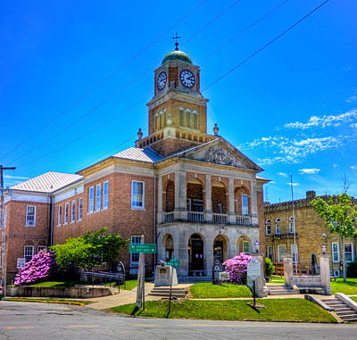 Photograph - Tyler County Courthouse by Jonny D