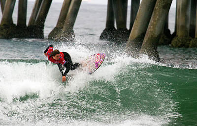 Photograph - Tyler Wright At The 2012 Us Open by Waterdancer