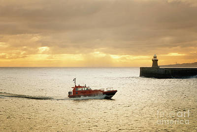 Shield Photograph - Tynemouth by Nichola Denny