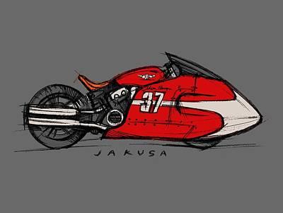 Digital Art - Type37  by Jakusa Design