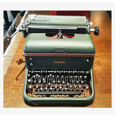 Typewriter Photograph - Typewriter Font For by Akeem Aka