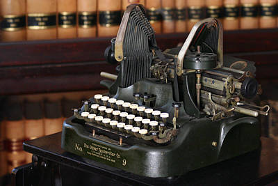 Photograph - Typewriter by Lilian Forsyth