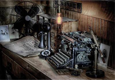 Photograph - Typewriter Manifesto  by Jeffrey Jensen
