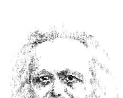 Typewritten Marx 1 Art Print by Robert Doerfler
