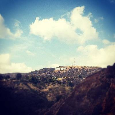 Hollywood Wall Art - Photograph - Typical La Shot, But Loved The Sky! by Loghan Call