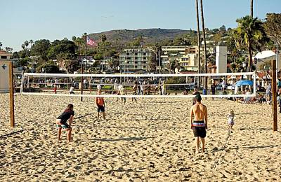 Photograph - Typical Laguna Beach Day by Robert Meyers-Lussier