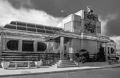 Photograph - Typical New Jersey Diner by Gregory Daley  MPSA