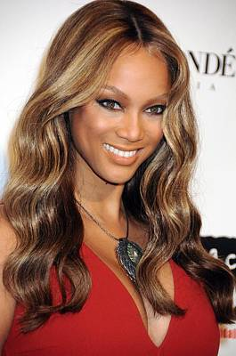 Tyra Banks At Arrivals For Keep A Child Art Print