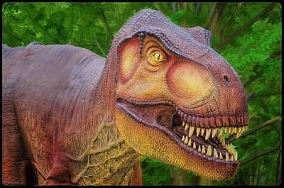 Photograph - Tyrannosaurus Dinosaur by LeeAnn McLaneGoetz McLaneGoetzStudioLLCcom