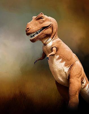 Photograph - Tyrannosaurus Rex At Dinosaur Valley State Park by David and Carol Kelly