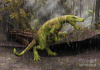 Digital Art - Tyrannosaurus Rex by Design Windmill