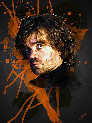 Digital Art - Tyrion Lannister by Kai Saarto