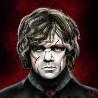 Lannister Painting - Tyrion Lannister by Vinny John Usuriello
