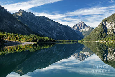 Photograph - Tyrolean Alps II by Brian Jannsen