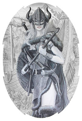 Tyryja Art Print by Kristopher VonKaufman