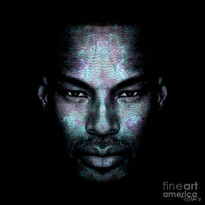 Tyson Beckford Art Print by Walter Oliver Neal