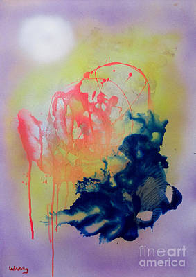 Painting - Tzfasser 49 by Dov Lederberg