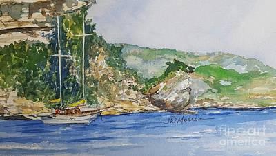 Painting - U Capu Biancu by Jill Morris