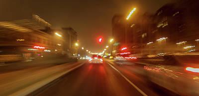 Photograph - U City Blurs by Garry McMichael