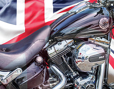 Photograph - U K - Harley-davidson 103 by Gene Parks
