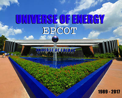 Photograph - U Of E Epcot by David Lee Thompson