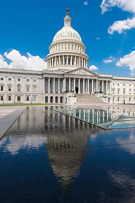 U S Capitol East Front Art Print