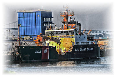 Photograph - U S Coast Guard 202 by Mike Martin