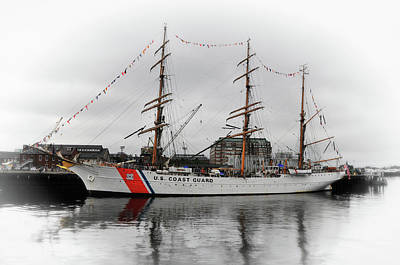 Photograph - U. S. Coast Guard Cutter Eagle No. 2 by Mike Martin