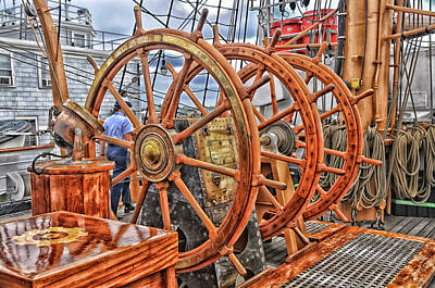 Photograph - U. S. Coast Guard Cutter Eagle No. 3 by Mike Martin