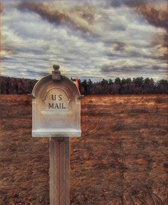 Photograph - U. S. Mail by Mary Capriole