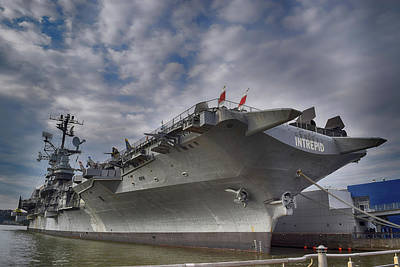 Photograph - U S S  Intrepid     by Dyle Warren