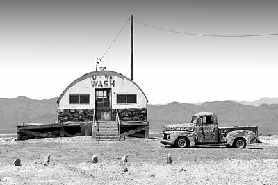 Photograph - U - We Wash - Death Valley by Mike McGlothlen